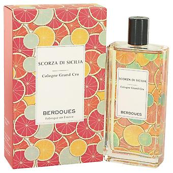 Scorza Di Sicilia Eau De Toilette Spray By Berdoues 3.68 oz Eau De Toilette Spray