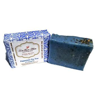 Handmade Peppermint Tea Tree Soap