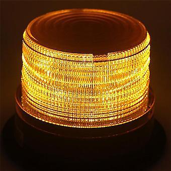 Led Car Warning & Emergency Light, Amber Flashing Strobe Beacon 12v-24v