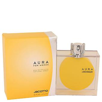 Aura Eau De Toilette Spray By Jacomo 1.4 oz Eau De Toilette Spray