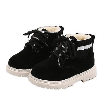 Girls Snow Winter Warm Fashion Boots - Rabbit Fur Soft Cotton Shoes