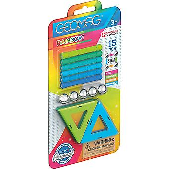 Geomag Rainbow Classic, Cold Colours Blister Pack 366, Magnetic Constructions and Educational