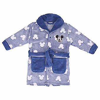 Children's dressing gown mickey mouse pale blue