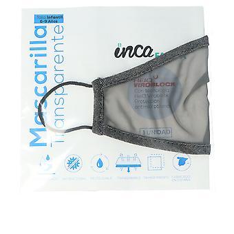 Inca Farma Mascarilla Higiénica Reutilizable Junior #gris Unisex