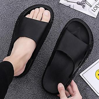Men's Cool Solid Comfortable Slippers