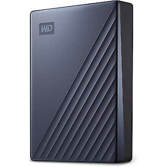 WD My Passport Ultra Mobiler Datenspeicher 5 TB (metallic-mattes Design, USB-C, WD Discovery,