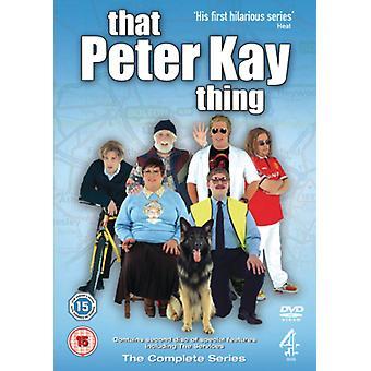 That Peter Kay Thing DVD