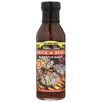 Walden Farms Calorie Free Sugar Free Barbecue Sauce Thick & Spicy