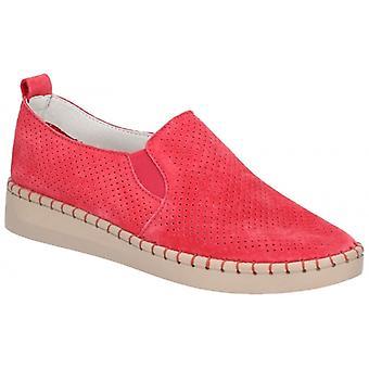 Fleet & Foster Tulip Ladies Demanda zapatos casuales rojo