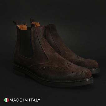 Duca di morrone - 101_pluto_camoscio - calzado hombre