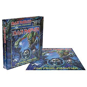 Iron Maiden Jigsaw Puzzle The Final Frontier new Official Blue 500 Piece