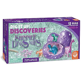 Mindware - dig it up! - shimmering dinosaurs