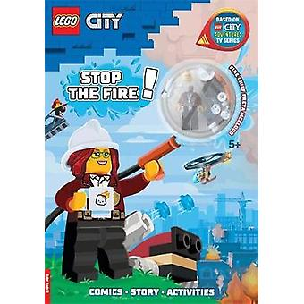 LEGO City Stop the Fire Activity Book with Minifigure