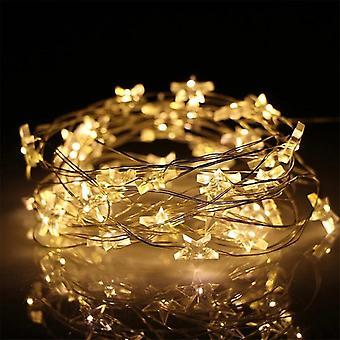 Star String Led Decor Usb Operated Fairy Lights