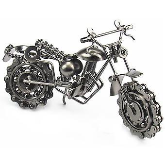 FengChun Motorrad-Modelle, Mens Boys Motorrad Zubehör Motorrad Handwerk für Dekoration oder