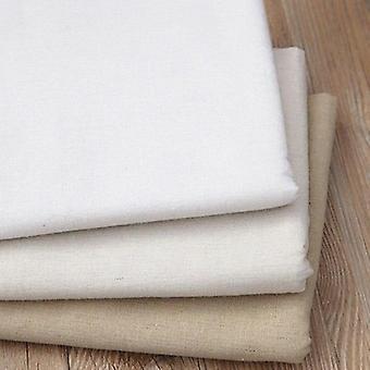 Solid Color Coarse Linen Cloth