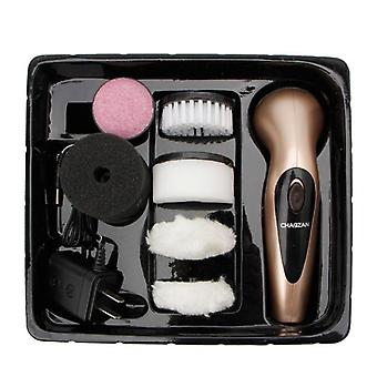 Tragbare Handheld, wiederaufladbar, automatische elektrische Schuh Pinsel Glanz, Polier