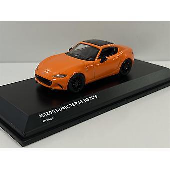 Mazda Roadster RF RS 2019 Orange 1:64 Scale Kyosho 7068A8