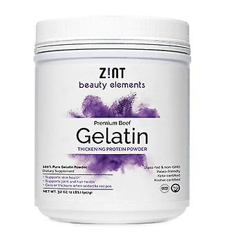 Zint Grass-Fed Beef Gelatin Protein Powder, 2 lbs