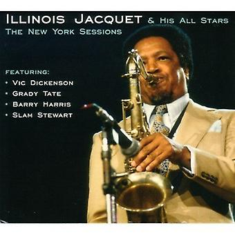 Illinois Jacquet - New York Sessions [CD] USA import