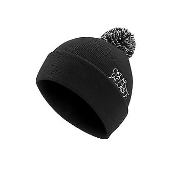 Oscar Jacobson Unisex Hat II Golf Soft Knit Fabric Flecked Bobble Design Cap