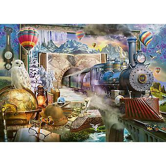 Schmidt Il puzzle del viaggio magico (1000 pezzi)
