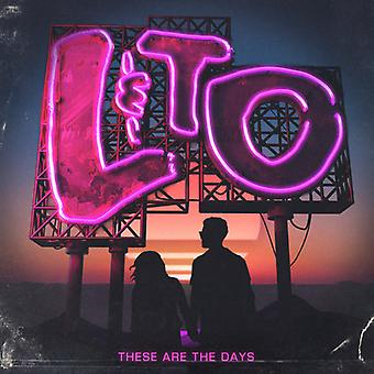 Love & the Outcome - These Are the Days [CD] USA import