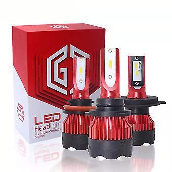 9005 LEDヘッドライト電球、60W 10000ルーメン6000KクールホワイトスーパーブライトLEDヘッドライト