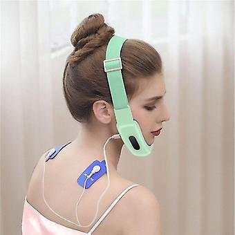 Elektryczny kształt V Lifting odchudzanie twarzy Contour Masażer MicroCurrent Użyj urządzeń kosmetycznych