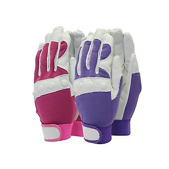 Town & Country TGL104M Comfort Fit Red Gloves Ladies - Medium T/CTGL104M