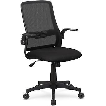 Ergonomisch Bürostuhl Schreibtischstuhl mit Hochklappbaren Armlehnen, Computerstuhl mit