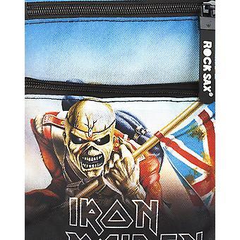 Rock Sax Trooper Iron Maiden Crossbody Bag