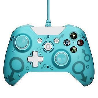 جديد لاسلكي بلوتوث تحكم الألعاب لوحة تحكم جويستيك لمايكروسوفت إكس بوكس USB جويستيك(الأزرق)