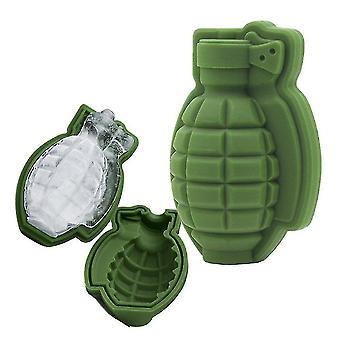 Craft molds 3d silicone ice cube mold  grenade ice cube  cake candy tools  1 craft mold