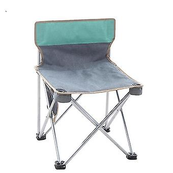 Coffee tables outdoor portable folding chair camping picnic bbq seat stool beach chair graygreen