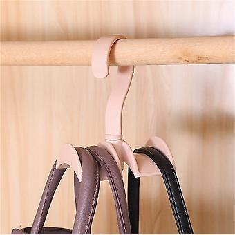 Rotatable Laundry Hook Multipurpose Strip 360 Double Hook Closet Organizer