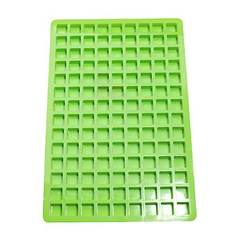 126 Cells Square Ice Cube Tray Silicone Candy Chocolate Molds