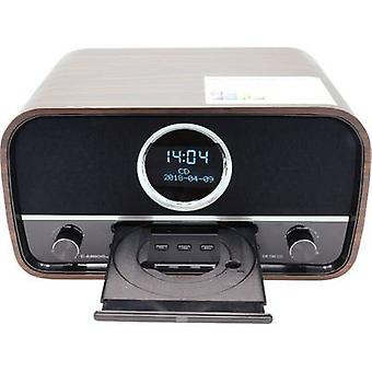 Albrecht DR 790 Radio CD player DAB+, FM AUX, Bluetooth, CD Brown