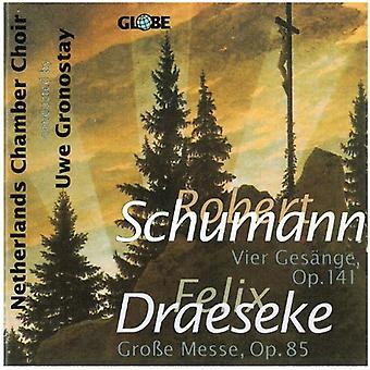 R. Schumann - Schumann: Vier Ges Nge, Op. 141; Draeseke: Gro E Messe, Op. 85 [CD] USA import