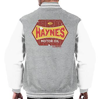 Haynes Golden Fleece Motor Oil Men's Varsity Jacket
