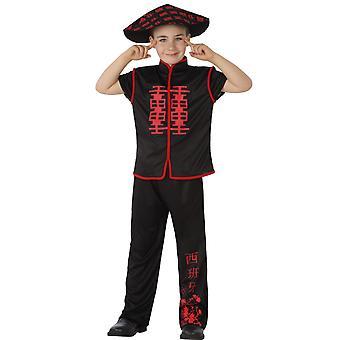 Børns kostumer drenge kinesisk dreng
