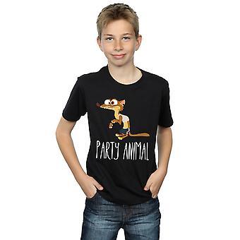 Disney мальчиков Zootropolis партия животных футболку