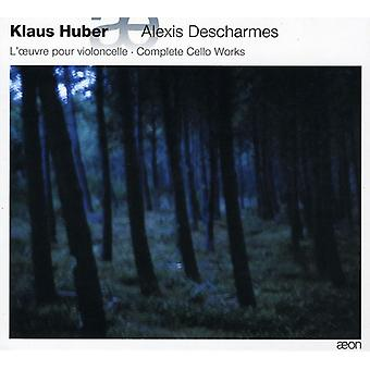 H. Huber - Klaus Huber: Cello Gesamtwerk [CD] USA import