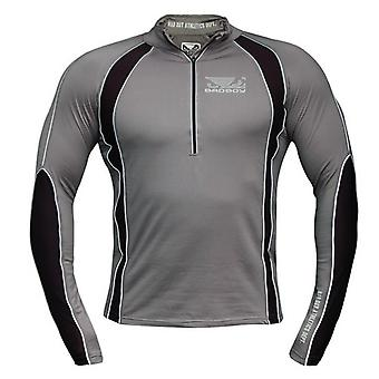 Bad Boy thermische Half Zip Training Top - grau