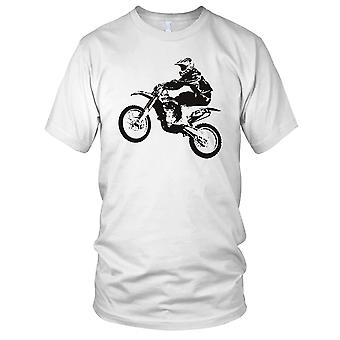 Skitt sykkel Jump Trail Offroad MX Motocross Mens T-skjorte