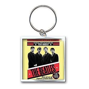 The Beatles Keyring Keychain 1962 Port Sunlight new Official