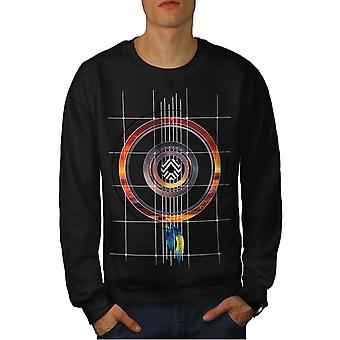 Dream Catcher Men BlackSweatshirt   Wellcoda