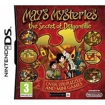 Mays Mysteries The Secret of Dragonville (Nintendo DS) - As New