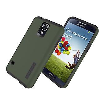 5 Pack -Incipio DualPro Shock-absorbing Case for Samsung Galaxy S5 - Olive Green