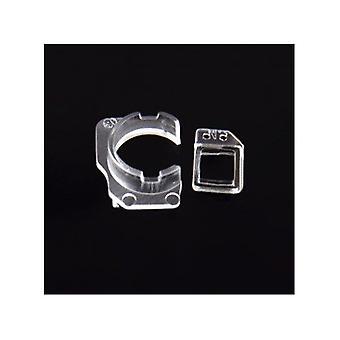 עבור iPhone 6S - סוגר פלסטיק למצלמה קדמית חיישן קרבה - 10 חתיכות